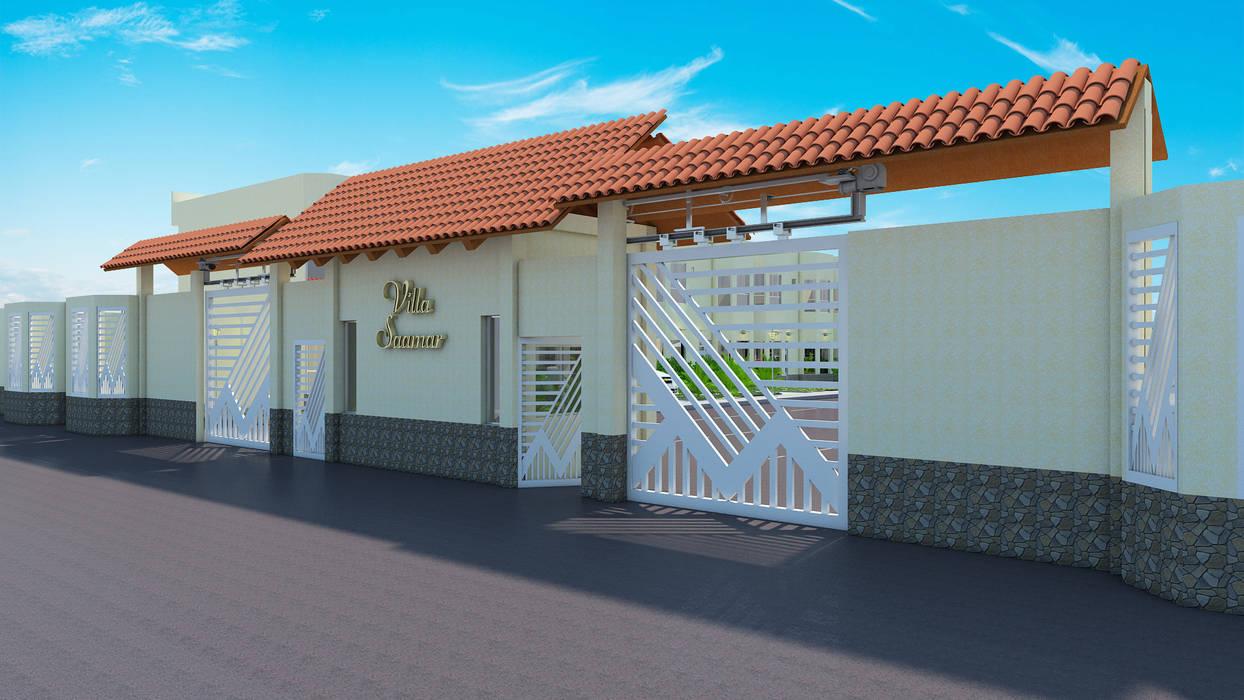 Proyecto Villa Saamar Casas estilo moderno: ideas, arquitectura e imágenes de Arq. Susan W. Jhayde Moderno