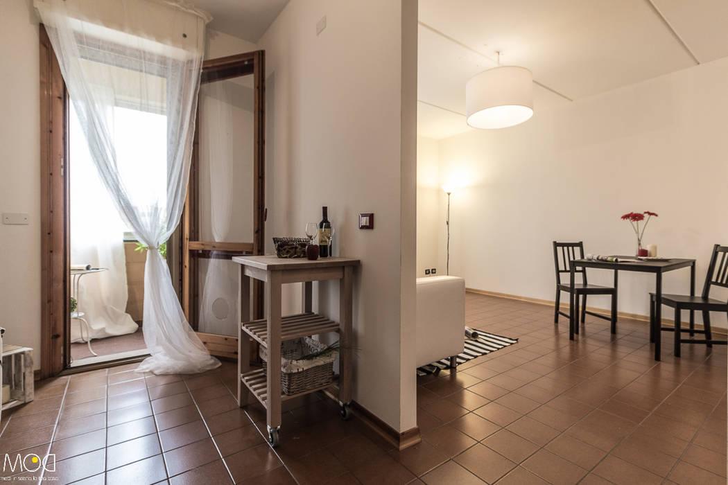 HOME STAGING_Caramello Michela Galletti Architetto e Home Stager Cucina moderna