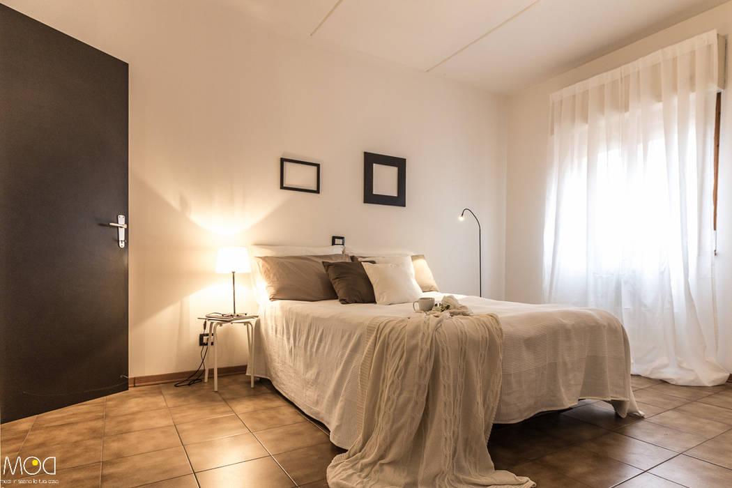 HOME STAGING_Caramello Michela Galletti Architetto e Home Stager Camera da letto moderna