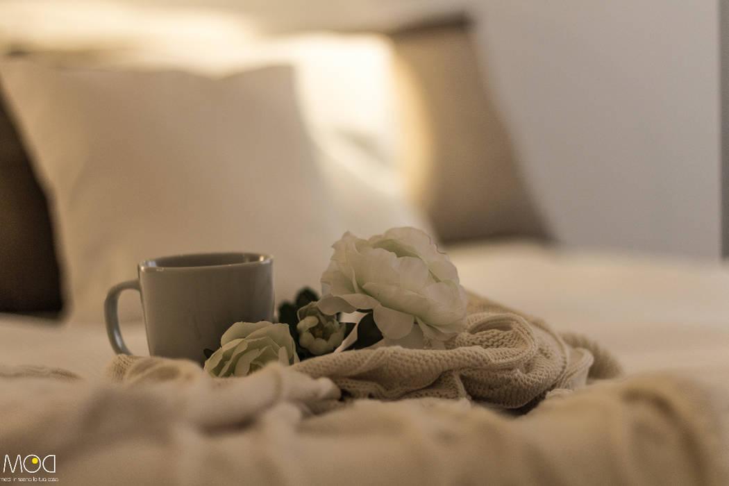 غرفة نوم تنفيذ Michela Galletti Architetto e Home Stager