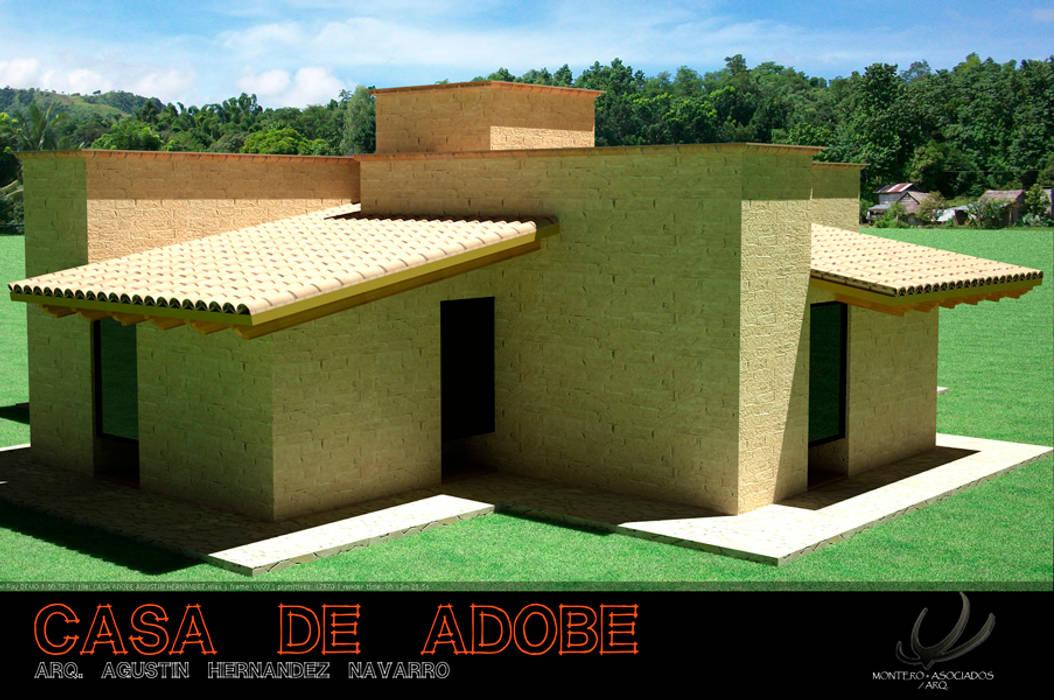 Casa de adobe, Arq. Agustin Hernadez de homify