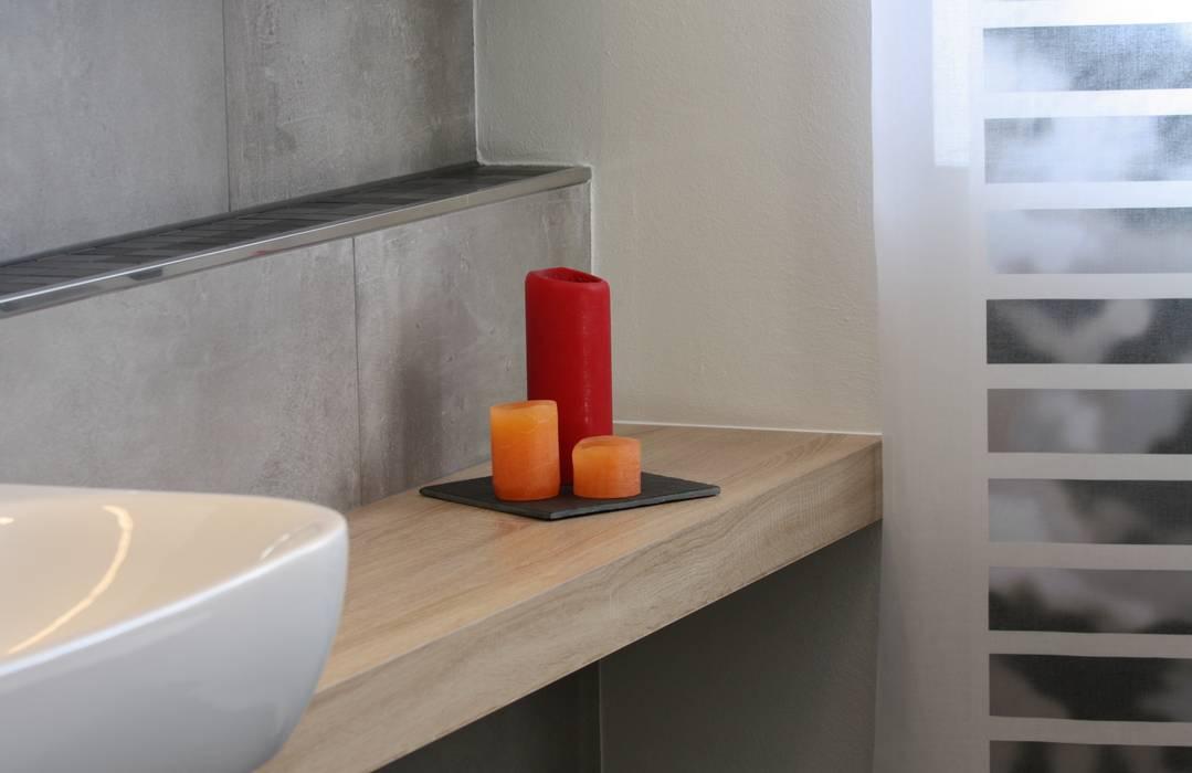 Auf maß gearbeitetes badmöbel: badezimmer von ludwig steup gmbh | homify