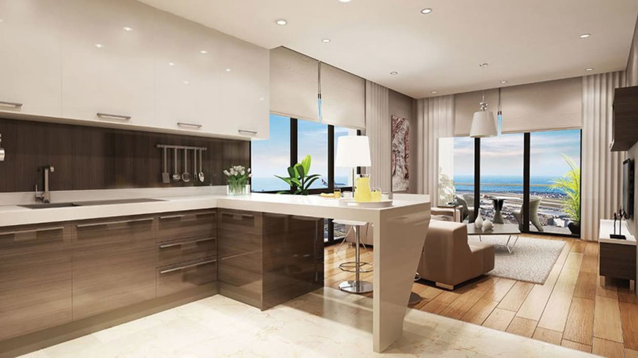 Interior Designs Modern Mutfak CCT INVESTMENTS Modern