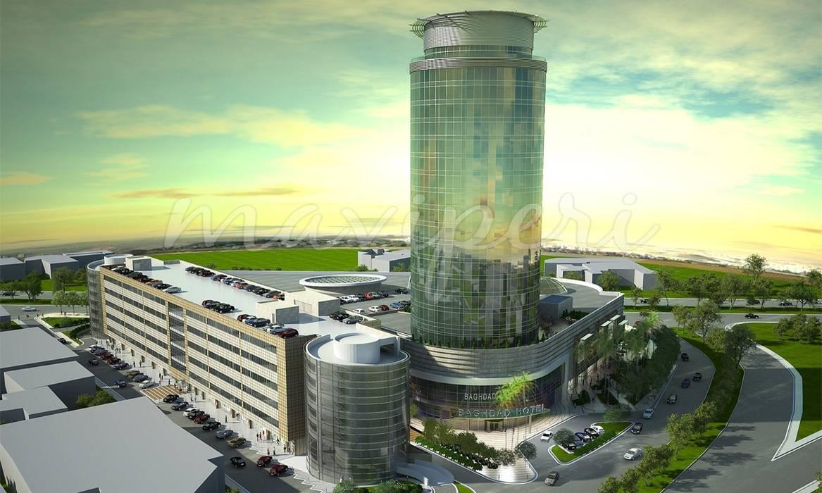 Bağdat AVM & Bağdat Rotana Otel:  Hotels by Maviperi Mimarlık
