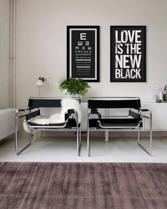 Diseño Icónico: Salas de estilo moderno por Gaia Design