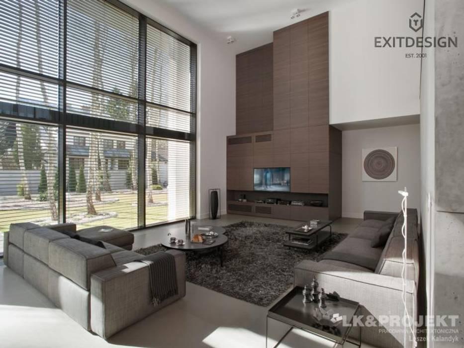 Moderne Wohnzimmer von LK & Projekt Sp. z o.o. Modern
