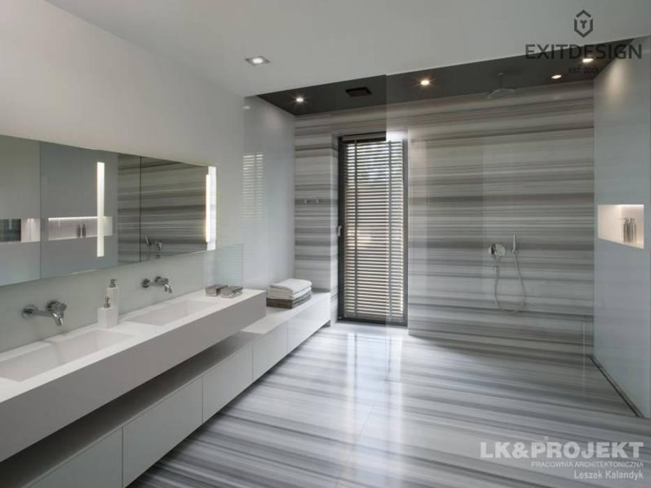 Ванные комнаты в . Автор – LK & Projekt Sp. z o.o., Модерн
