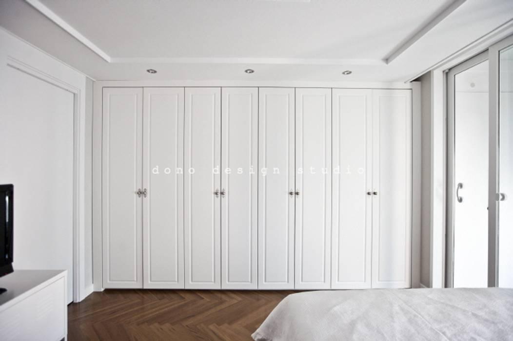 가오동 은어송 1단지 109 m2 모던스타일 침실 by 도노 디자인 스튜디오 모던