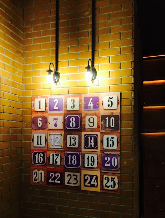 Bistro Endüstriyel Bar & Kulüpler PART TIME INTERIOR Endüstriyel Tuğla