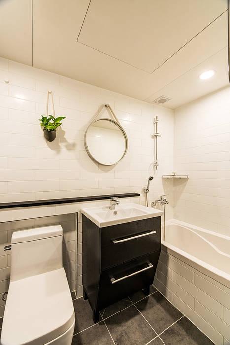 아르떼 인테리어 디자인 Salle de bain moderne