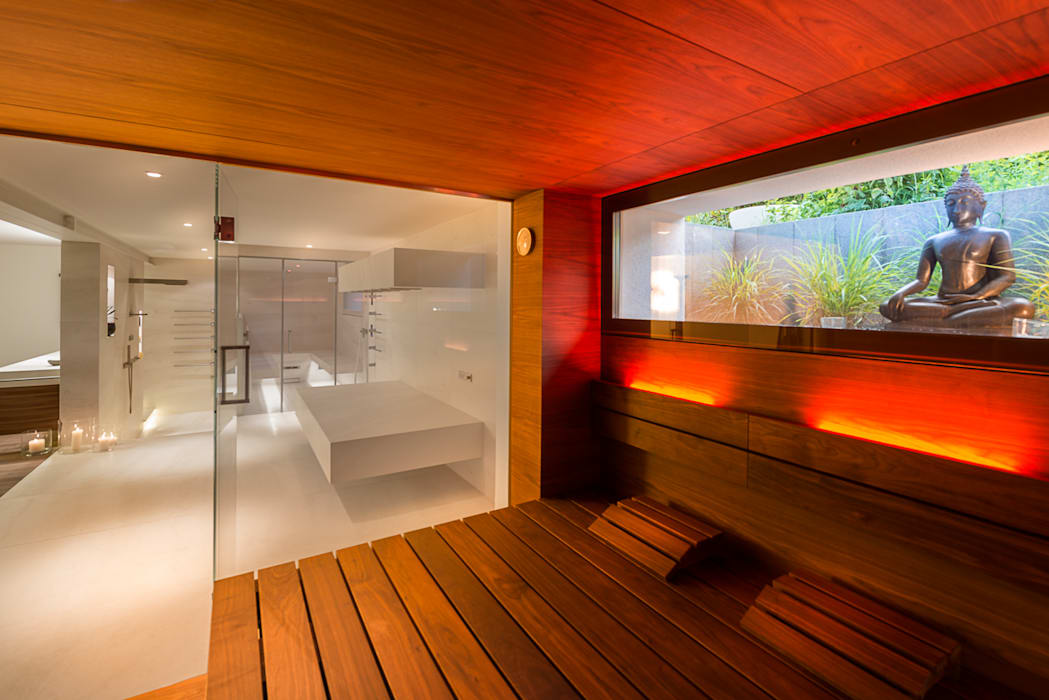 by corso sauna manufaktur gmbh Modern Wood Wood effect