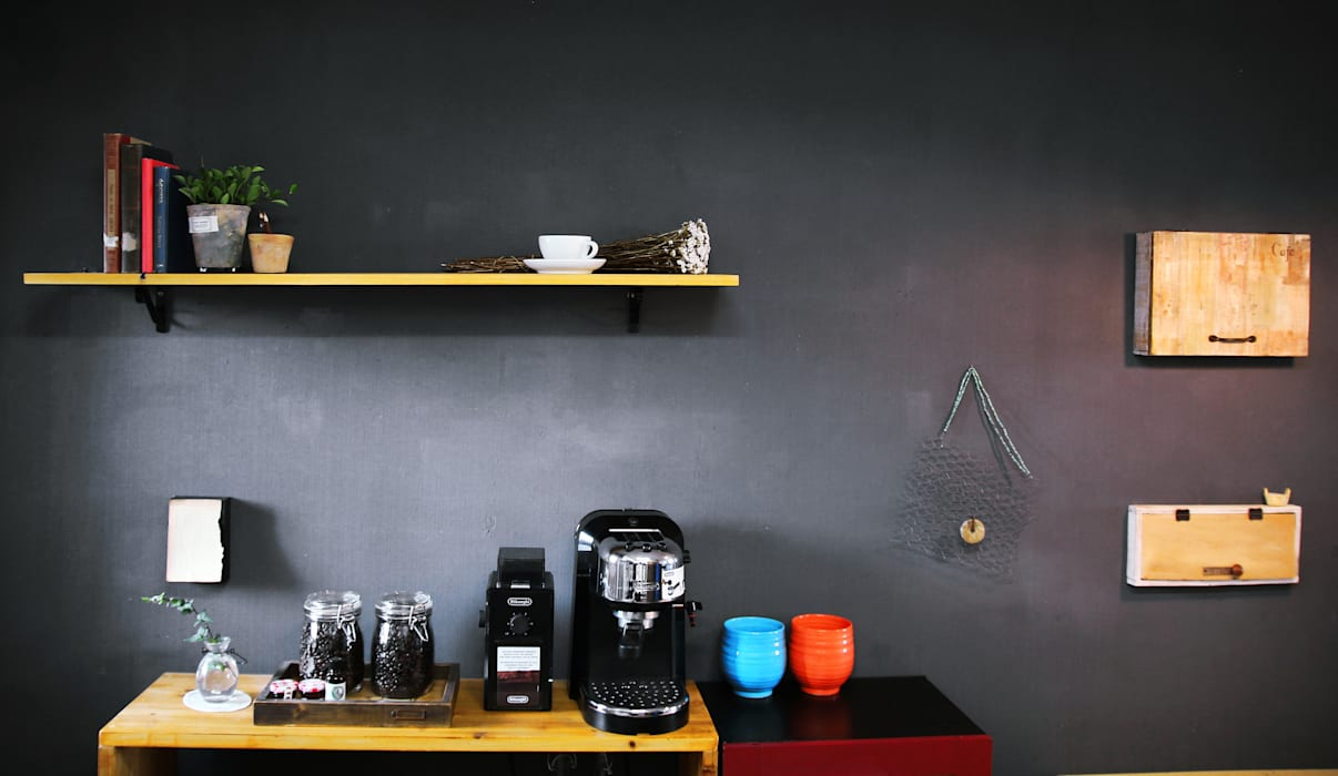 Industrial style kitchen by 13월의 블루 Industrial