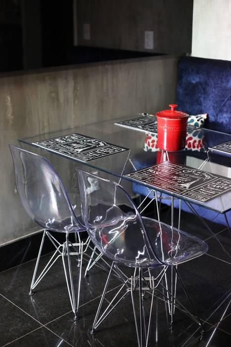 Cozinha Industrial-Moderna Cozinhas ecléticas por Tejo Arquitetura & Design Eclético