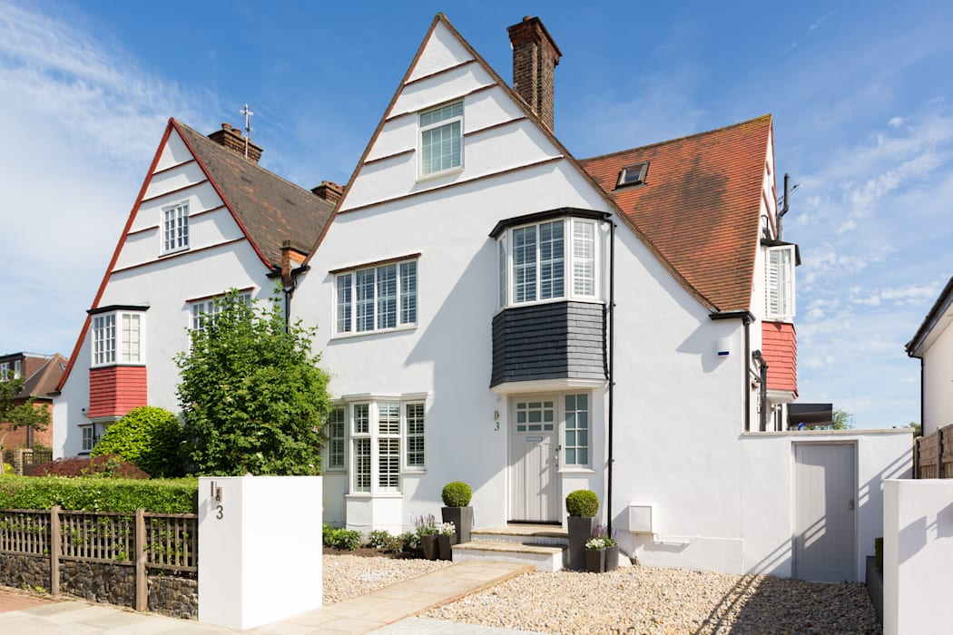 Broadgates Road Granit Architects Casas de estilo moderno