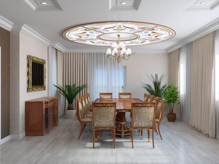 Столовая комната в эклектичном стиле от homify Эклектичный
