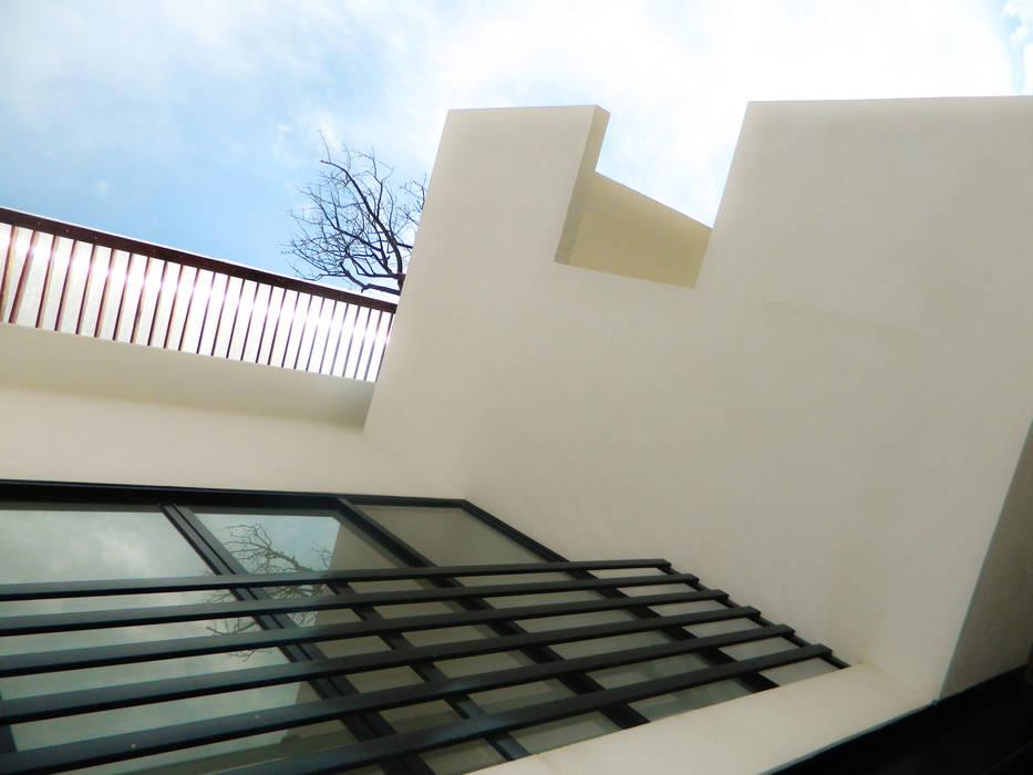 Real de Palmas 01 Casas modernas de ECNarquitectura Moderno