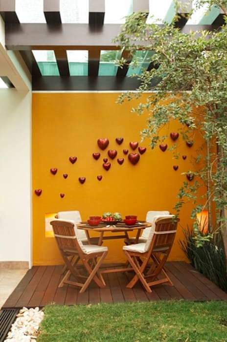 Modern style balcony, porch & terrace by arketipo-taller de arquitectura Modern