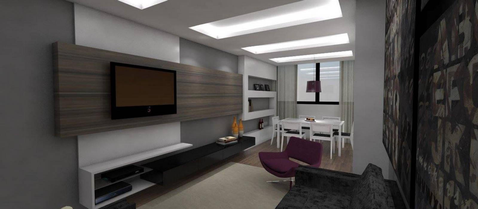 Modern living room by Arquitetura do Brasil Modern