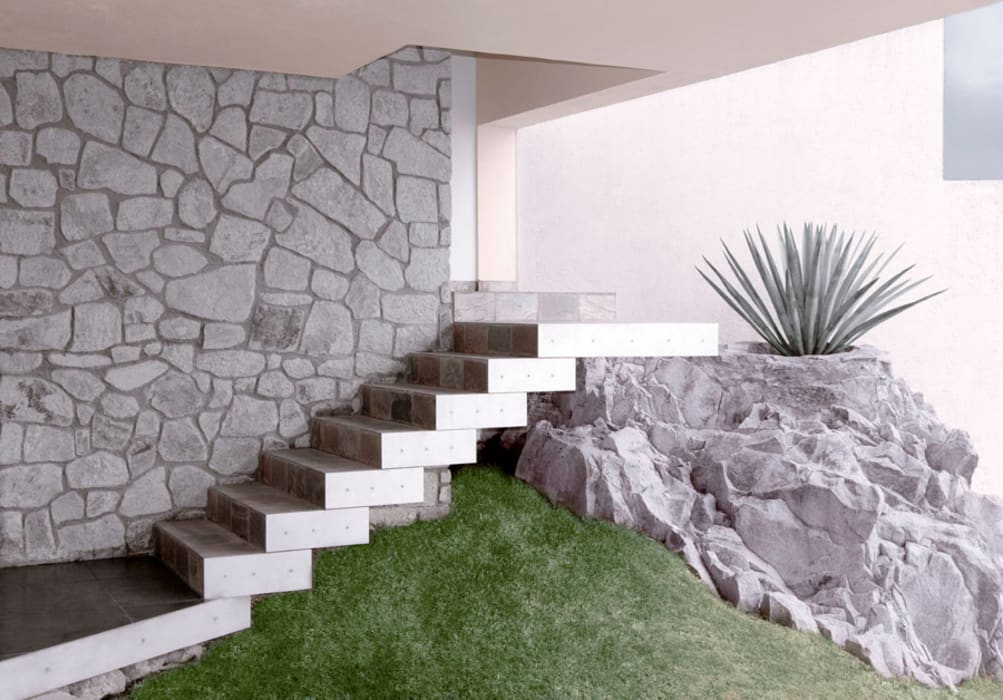 Modern Corridor, Hallway and Staircase by alexandro velázquez Modern