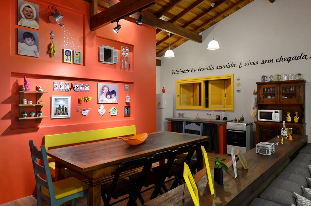 ห้องทานข้าว โดย Arquitetando ideias, ทรอปิคอล