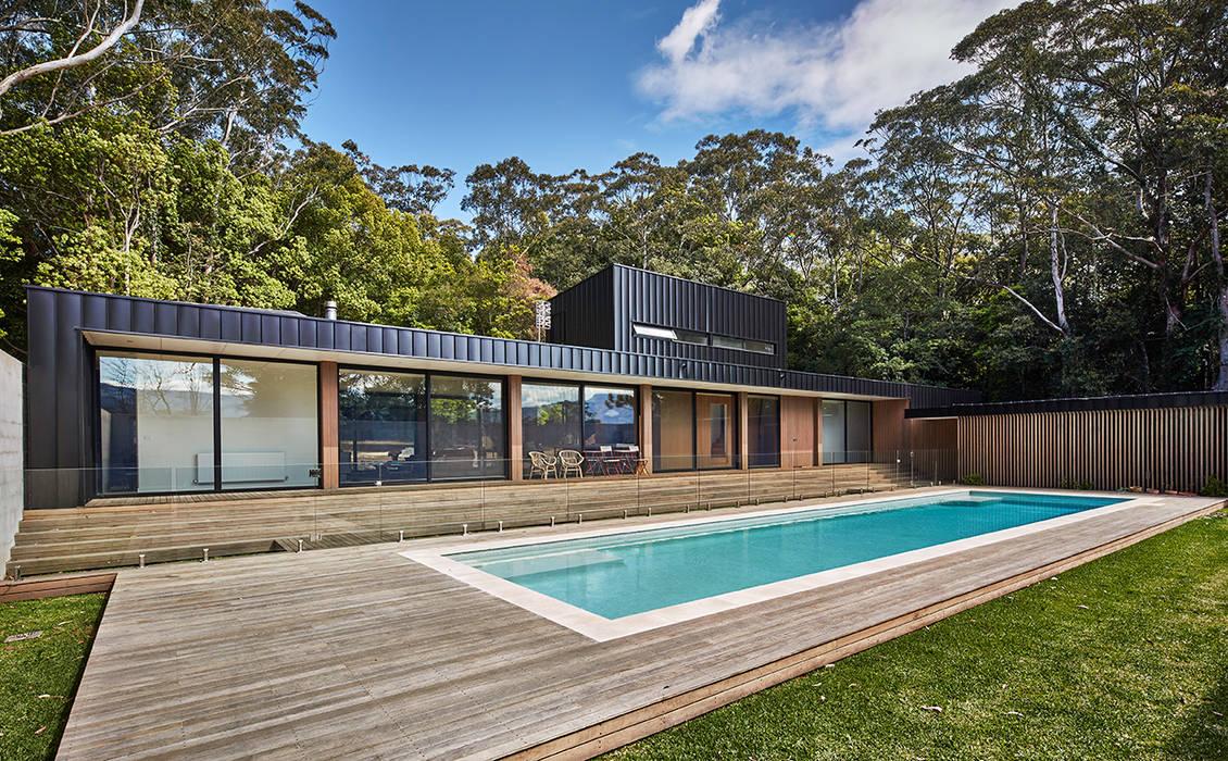 Modular Home in Berry, NSW Minimalist houses by Modscape Holdings Pty Ltd Minimalist