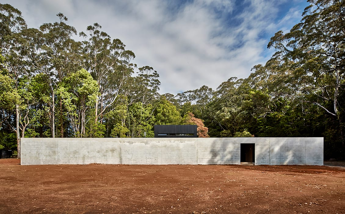 Modular Home in Berry, NSW Modscape Holdings Pty Ltd Minimalist houses Concrete Grey