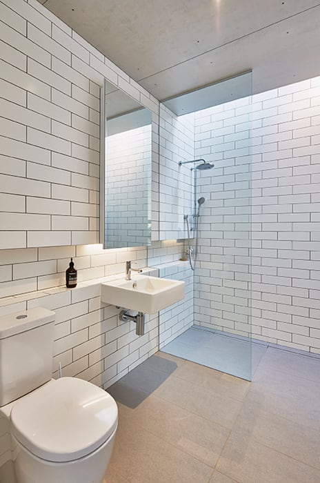 Modular Home in Berry, NSW Minimalist bathroom by Modscape Holdings Pty Ltd Minimalist