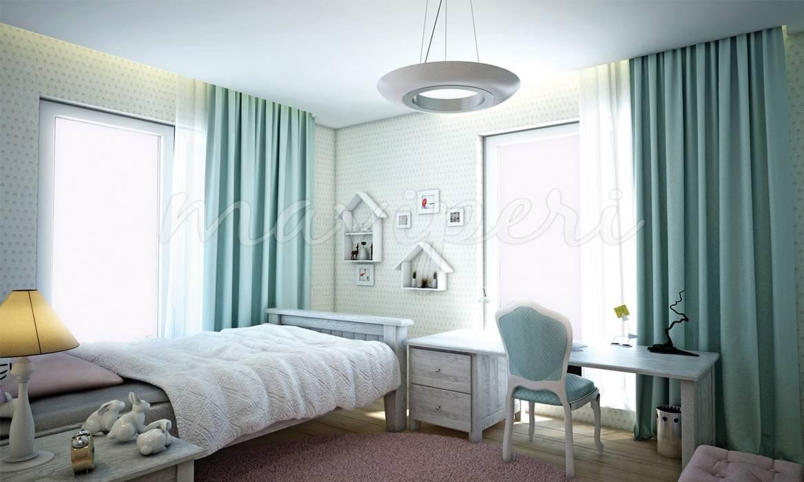 Sinpaş GYO Karaca Residence: modern Nursery/kid's room by Maviperi Mimarlık