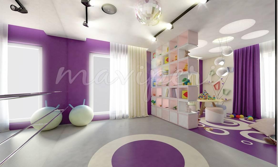 Sinpaş GYO Karaca Residence Modern gym by Maviperi Mimarlık Modern