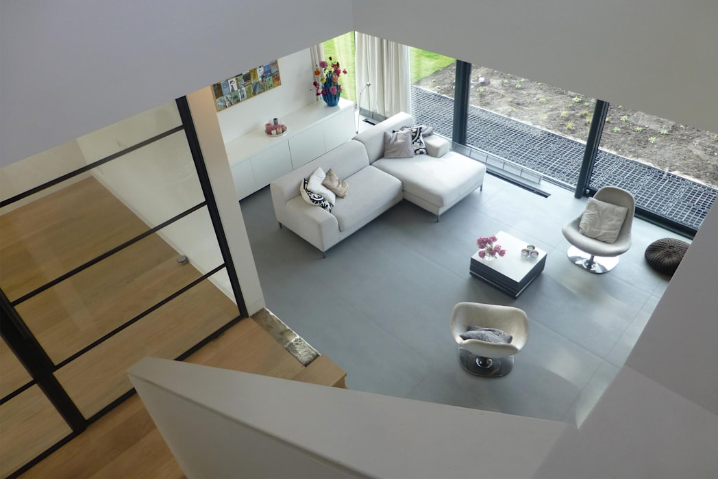 Woonhuis rotterdam woonkamer door maas architecten homify for Woonhuis rotterdam