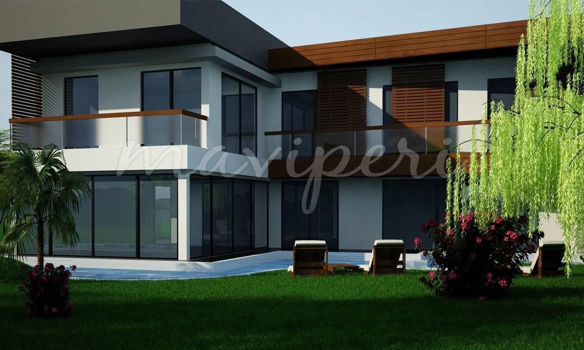 Akdemir Residence:  Houses by Maviperi Mimarlık
