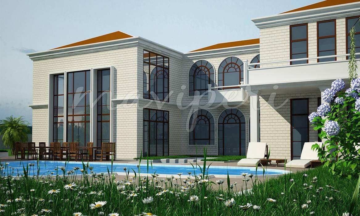 Soylu Residence: modern Houses by Maviperi Mimarlık