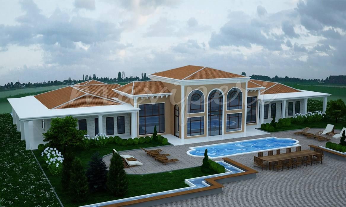 Karatepe Residence:  Houses by Maviperi Mimarlık