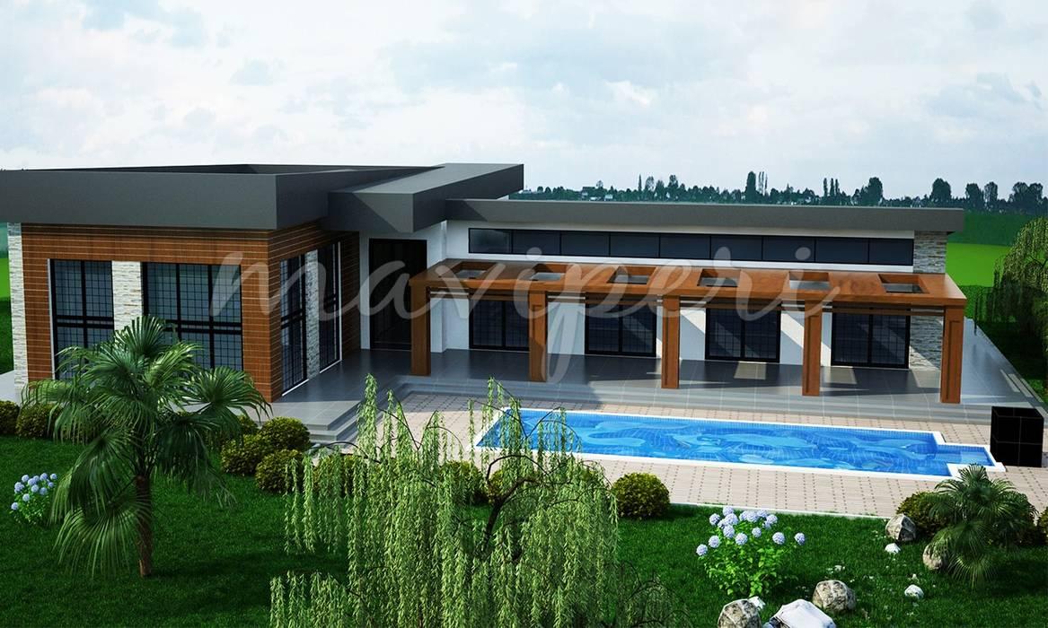 Uğurlu Residence: modern Houses by Maviperi Mimarlık