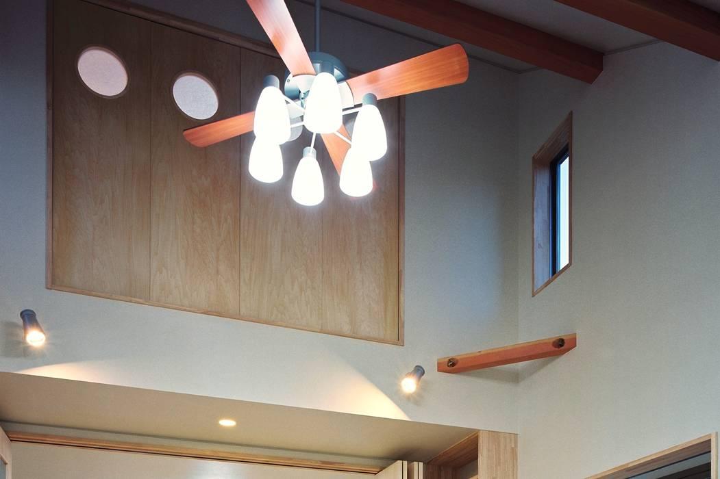 小栗建築設計室의  아이방