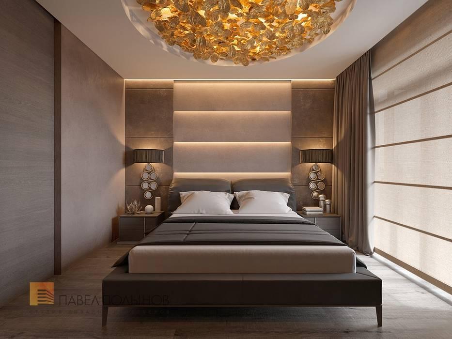 Интерьер квартиры в стиле минимализм, 165 кв.м.: Спальни в . Автор – Студия Павла Полынова,