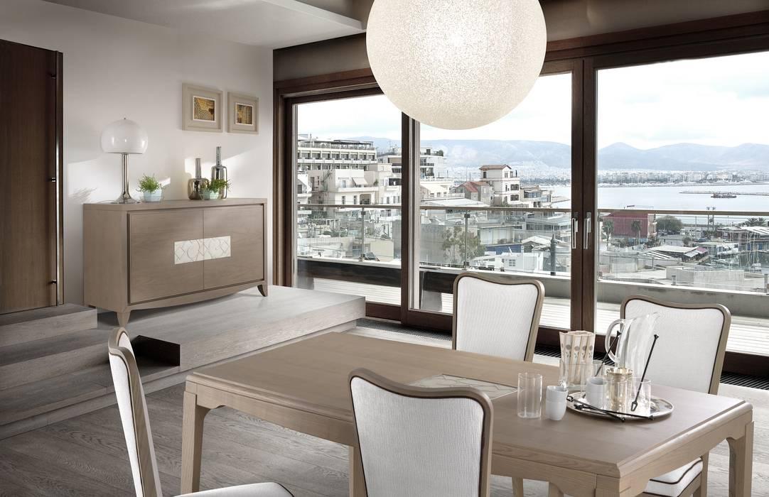 Sala da pranzo collezione street: sala da pranzo in stile in stile ...