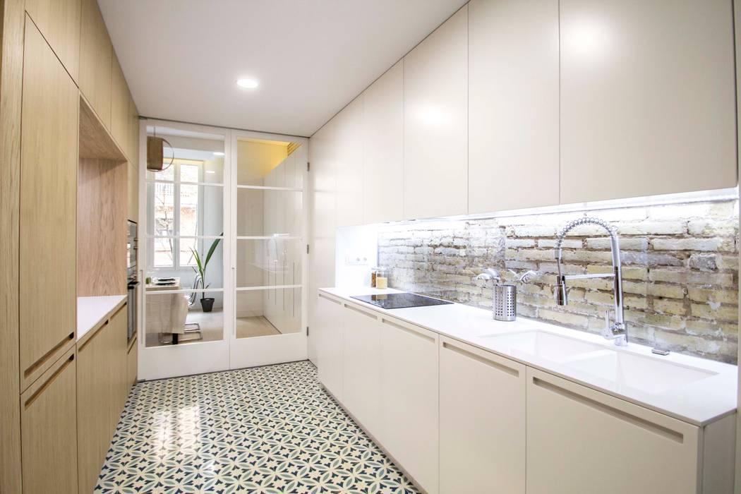 廚房 by DonateCaballero Arquitectos