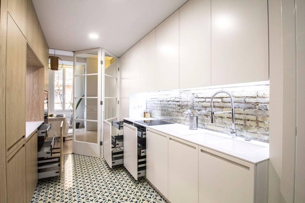Cocinas de estilo  por DonateCaballero Arquitectos,