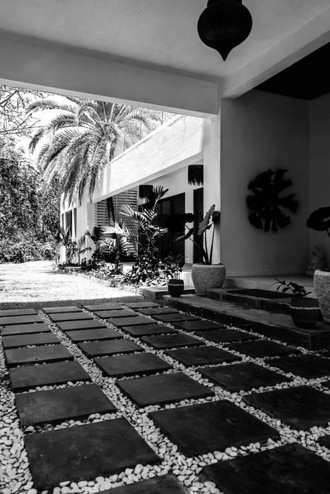 Дома в . Автор – Studio A, Тропический