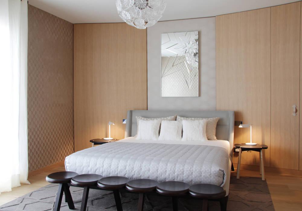 Modern Bedroom by Studio Catoir Modern Wood Wood effect