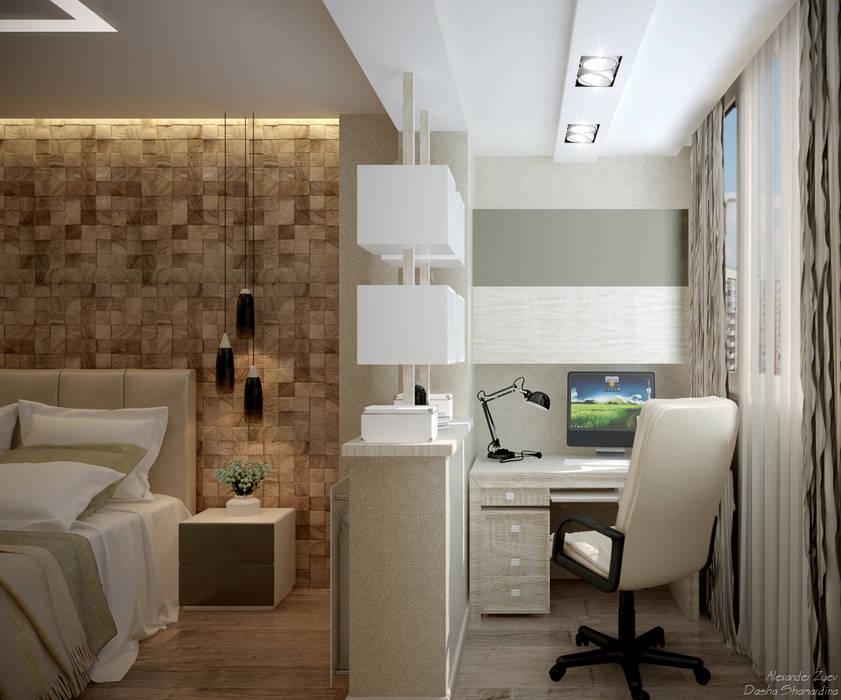 Terrazza in stile  di Студия интерьерного дизайна happy.design