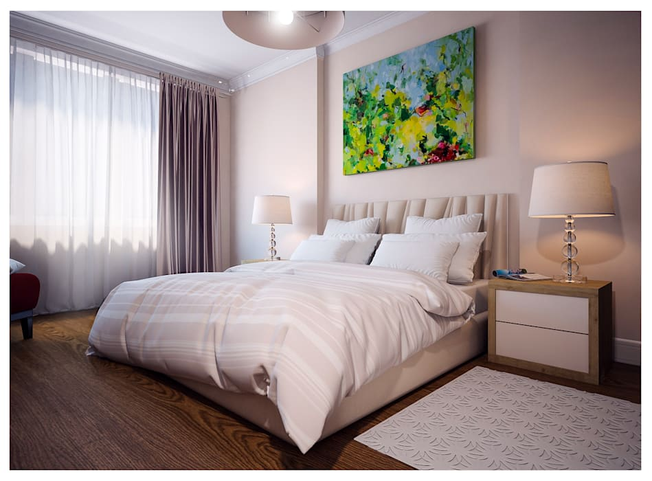 Bedroom by Alexander Krivov, Classic