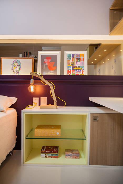 Dormitorios infantiles de estilo  por Casa2640, Ecléctico