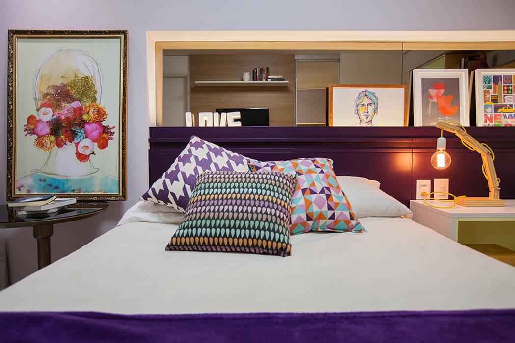Apartamento A&R Casa2640 Quarto infantil eclético