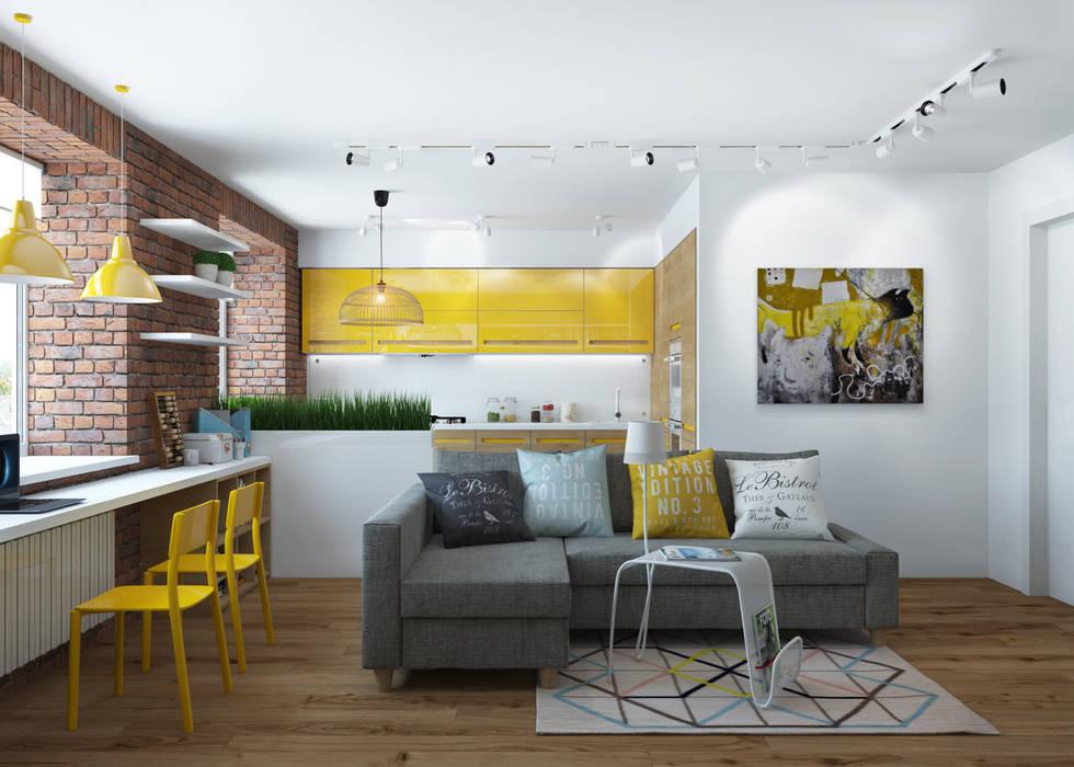3D GROUP Living room