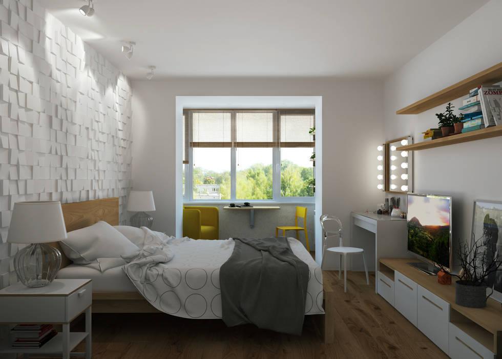 غرفة نوم تنفيذ 3D GROUP