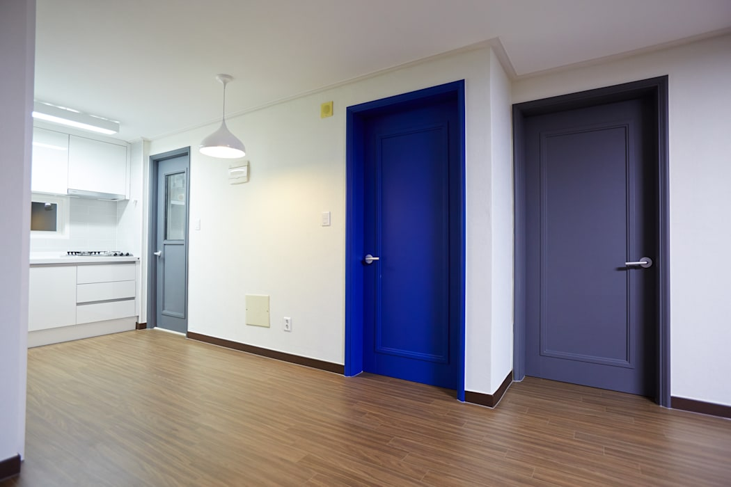 Salas / recibidores de estilo  por homify, Moderno