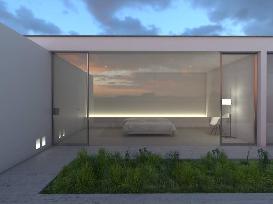 Casas modernas de archi3d Moderno