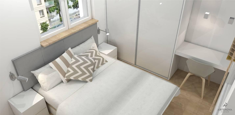 Dormitorios de estilo  de Artenova Design, Minimalista